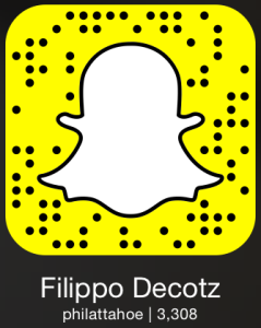 Snapchat QR code for Filippo Decotz